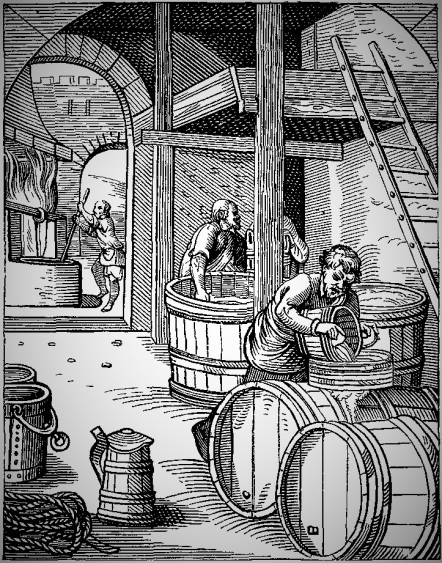 haciendo cerveza